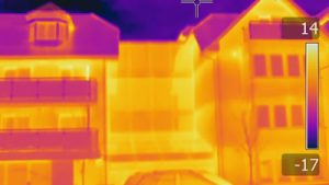 Thermal imaging, building defects